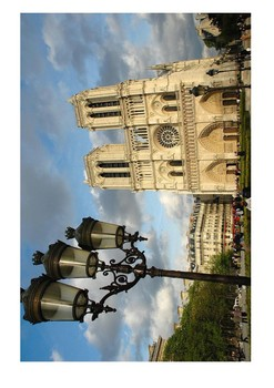 Notre Dame Cathedral Paris Word Search