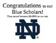 Notre Dame Classroom Recognition Posters