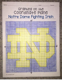 Notre Dame Fighting Irish (Graphing on the Coordinate Plane)