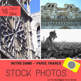 Notre Dame -- Paris, France --- Stock Photos
