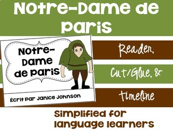 Notre-Dame de Paris~ French Hunchback Reader ~Simplified for Language Learners