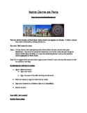 Notre Dame de Paris Web Activity for French