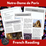 Notre Dame - reading for beginning/intermediate French learners