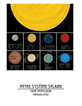 Notre Système Solaire - Our Solar System