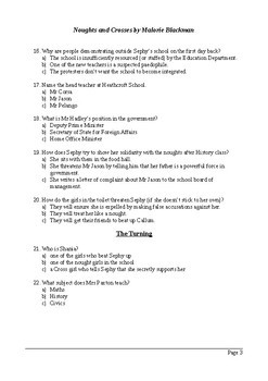 Noughts and Crosses - 100 Question Multiple Choice Quiz / Assessment