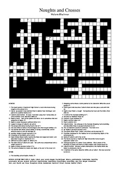 Noughts and Crosses - Review Crossword Puzzle