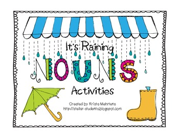 Noun Activites for Stations and Whole Group