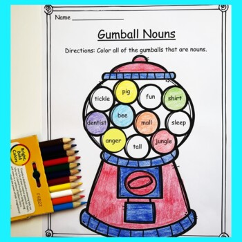 Noun Activities: Crafts, Games, and Printables