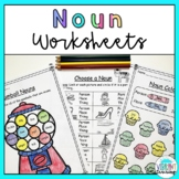 Noun Worksheets: Person, Place, Thing or Idea