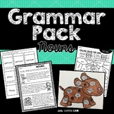 Noun Activities | Grammar Pack | Noun Craftivity and Printables