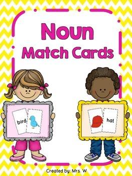 Noun Match Cards