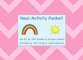 Noun Activity Packet -- (Poems, Games, Graphic Organizers) {34 Pages}
