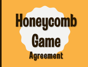 Spanish Noun Adjective Agreement Honeycomb Partner Game