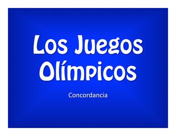 Spanish Noun Adjective Agreement Olympics