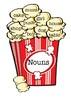 Noun, Adjective & Verb Popcorn Display