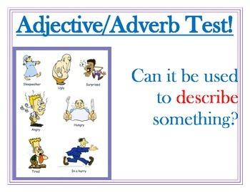 Noun, Adjective, Verb Posters
