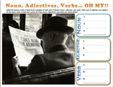 Noun, Adjectives, and Verbs in PICTURES