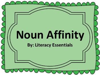 Noun Affinity Sort