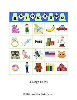 Noun Bingo