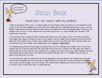 Noun Books For Teaching Common Proper Singular And
