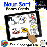 Noun Boom Cards Kindergarten Grammar Boom Cards Distance Learning Activities