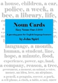 Noun Cards Bundle: Both Easy Nouns (1-100) and Easy Nouns