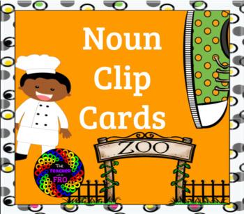 Noun Clip Cards