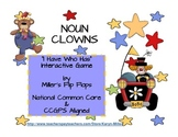 Noun Clowns - I Have Who Has - Interactive Noun Game