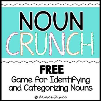 Noun Crunch! Identifying and Categorizing Noun Game