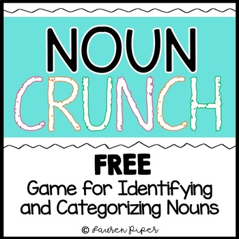 Noun Crunch! Identifying and Categorizing Noun Game