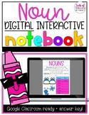 Noun Digital Interactive Notebook- Distance Learning