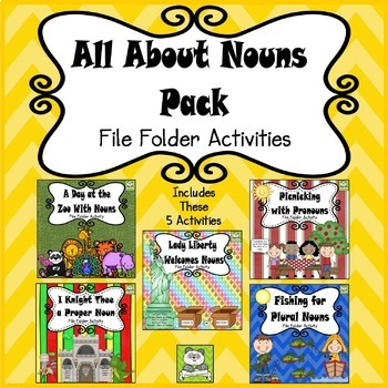 Noun File Folder Pack