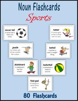 Noun Flashcards:  Sports