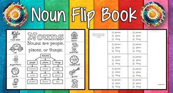 Noun Flip Book