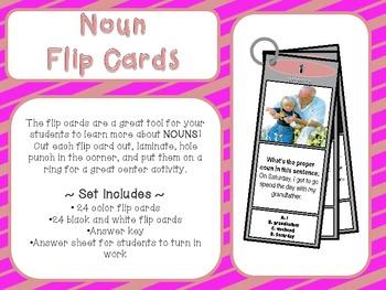 Noun Flip Cards