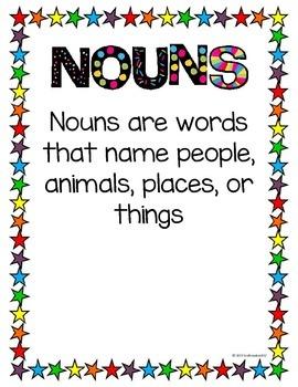 Noun Folder Games