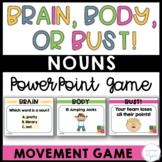 Nouns Game - Nouns Interactive Powerpoint