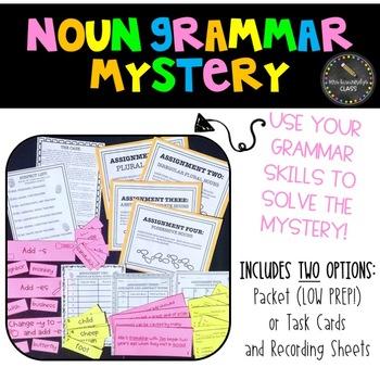Noun Grammar Mystery Activity