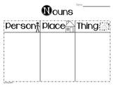 Noun Graphic Organizer
