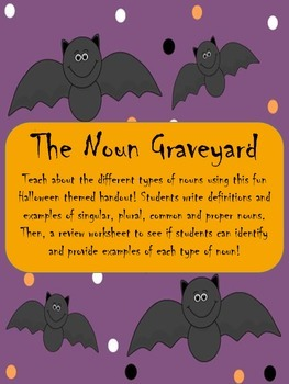 Noun Graveyard- FREE!