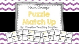 Noun Groups Puzzle Match Up - C2C English