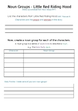 Noun Groups Worksheet