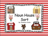 Noun House Sorting Center with Activities