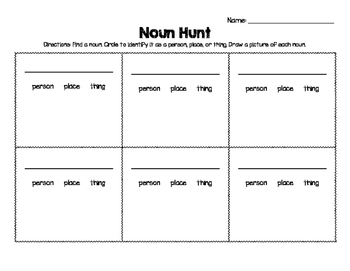 Noun Hunt