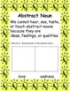 Noun Worksheets/Literacy Center Activities for Notebook- Common Core