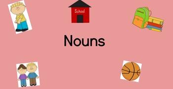 Noun Lessons for Google Classroom