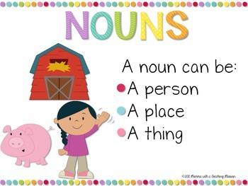 Noun Literacy Center L.1.1