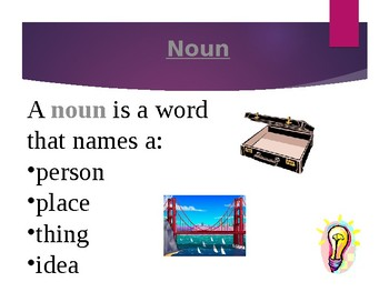 Noun Madness Interactive PowerPoint Quiz Game