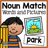 Noun Matching Cards - Pictures and Words