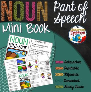 Nouns Interactive Notebook Mini Book